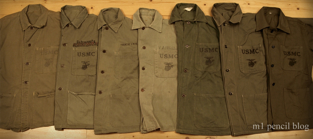 P41 Utility Jacket comparison – Originals vs Repros   M1 ...