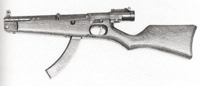 Japanese Type II Submachine gun | M1 Pencil